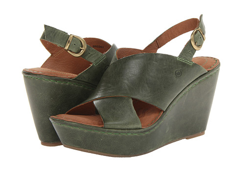 Born - Emmy (Leaf Green) Women's Wedge Shoes