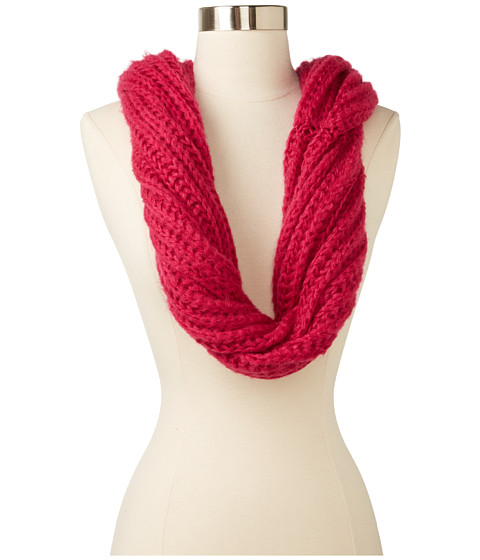 Echo Design - Lofty Snood Scarf (Fuchsia) Scarves