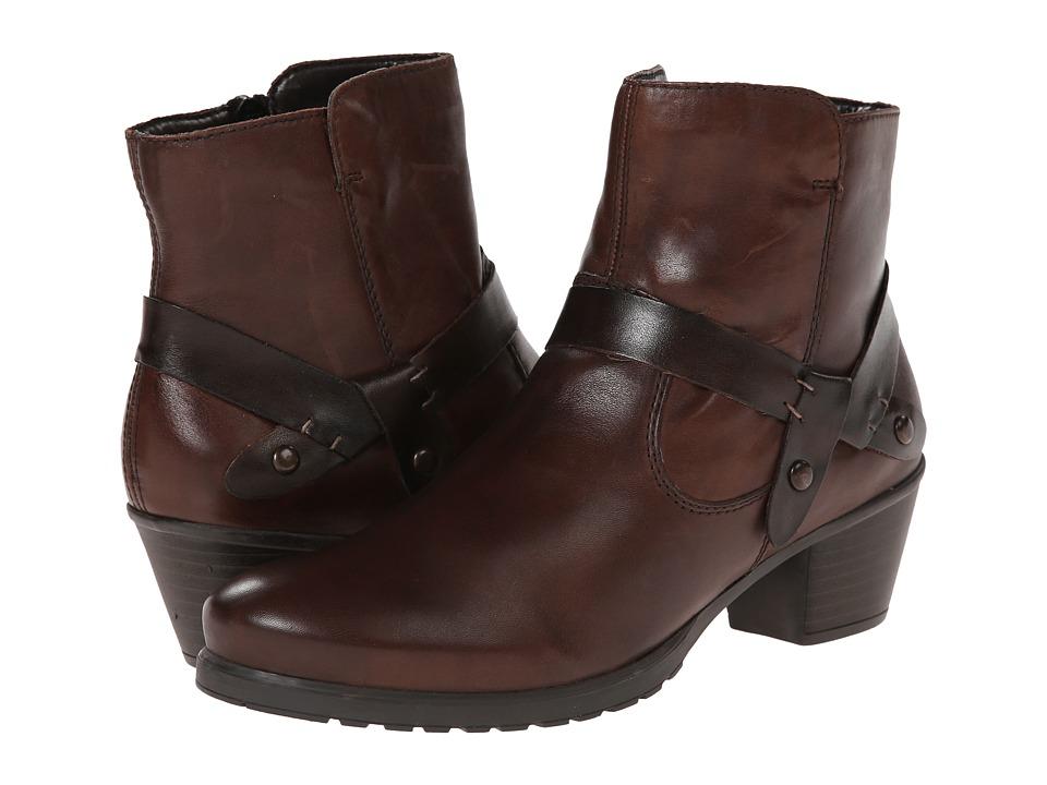 Rieker - Y0053 Shelby 53 (Teak/Teak Cristallino/Bogota) Women's Shoes