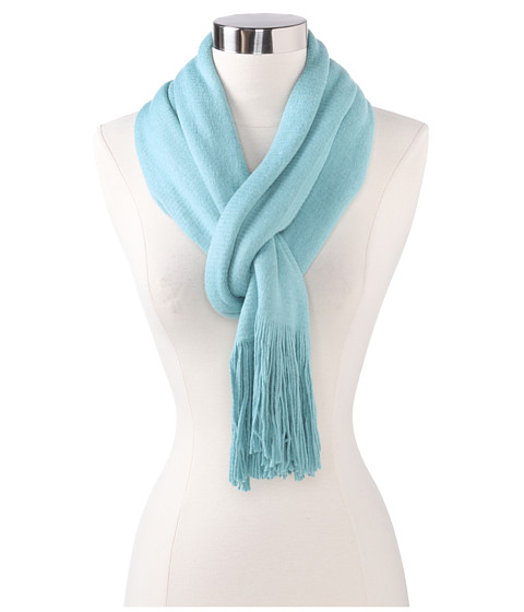 Echo Design - Milk Protein Wrap Scarf (Mint Heather) Scarves