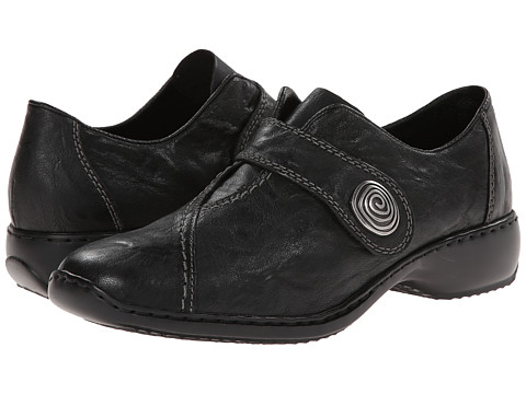 Rieker - L3870 Doro 70 (Schwarz Swanky) Women's Shoes