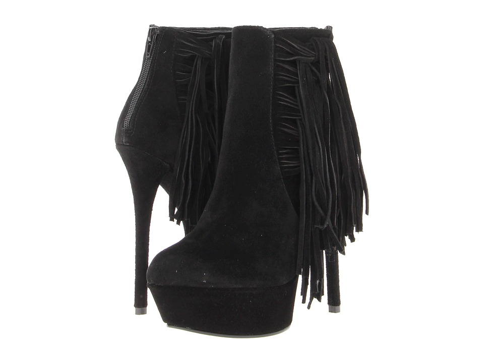 Steve Madden - Araura (Black Suede) Women's Boots