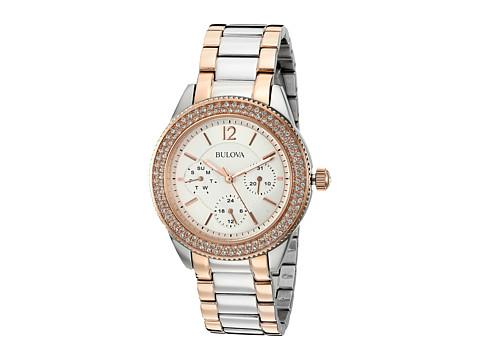 Bulova - Crystal (Two Tone) Analog Watches