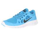 Nike Kids Free Run 5.0 (Big Kid) (Vivid Blue/Gree Abyss/Black)