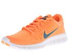 Nike Kids Free Run 5.0 (Big Kid) (Atomic Orange/White/Night Factor)