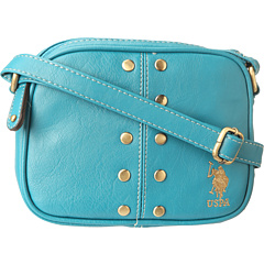 SALE! $16.99 - Save $32 on U.S. Polo Assn Dalton Crossbody (Teal) Bags and Luggage - 65.33% OFF $49.00
