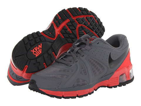 Nike Kids - Air Max Run Lite 5 (Big Kid) (Dark Grey/Light Crimson/Black) Boys Shoes