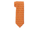 Vineyard Vines - Duck Duck Moose Printed Tie (Orange) - Accessories
