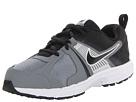 Nike Kids Dart 10 (Little Kid/Big Kid) (Black/Cool Grey/White/Metallic Silver)