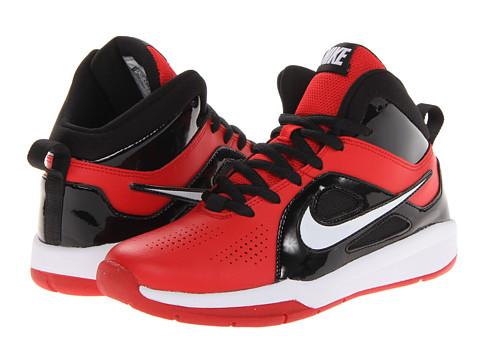 Nike Kids - Team Hustle D 6 (Big Kid) (University Red/White) Boys Shoes