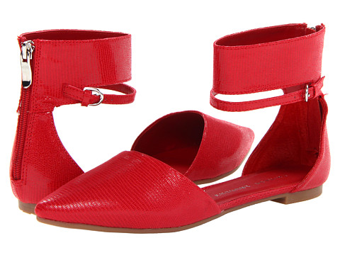 Chinese Laundry - Encino (Cherry Red Fabric) Women's Flat Shoes