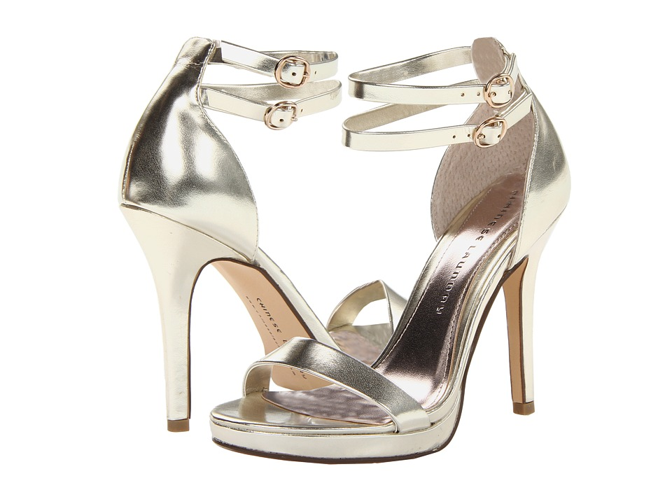 Chinese Laundry - Imagination (Light Gold Metal) High Heels