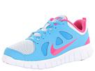 Nike Kids Free Run 5.0 (Little Kid) (Pure Platinum/Vivid Blue/White/Vivid Pink)