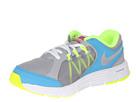 Nike Kids Lunar Forever 3 (Little Kid) (Wolf Grey/Vivid Pink/Vivid Blue/Metallic Silver)