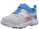 Nike Kids Dart 10 (Infant/Toddler) (Pure Platinum/Vivid Blue/White/Vivid Pink)