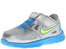 Nike Kids Flex Supreme TR 2 (Infant/Toddler) (Metallic Silver/White/Black/Volt Ice)