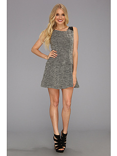 SALE! $34.99 - Save $63 on Sanctuary Boucle Dress (Black) Apparel - 64.30% OFF $98.00
