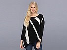 DKNY Jeans Instarsia Stripe Yarn Mix Sweater