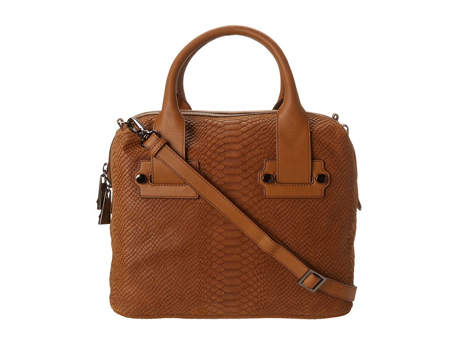 Nanette Lepore - Seduction Satchel (Camel) Satchel Handbags