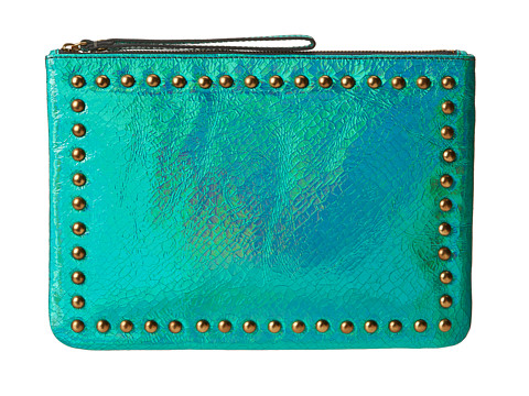 Nanette Lepore Kiss Tell iPad Case (Blue) Wallet