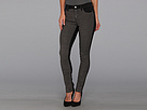 DKNY Jeans Soho Skinny Colorblock in Ash Grey