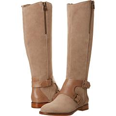 Joan David Heathley (Taupe Leather Suede) Footwear
