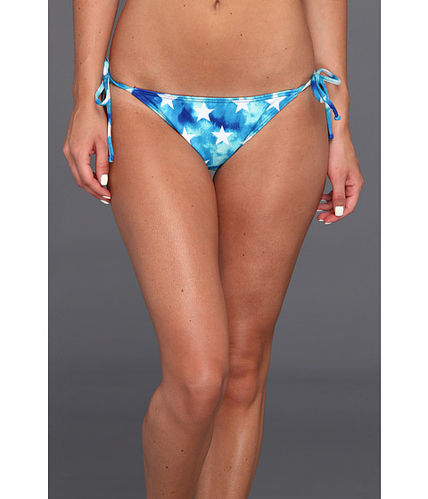 Billabong - Star Stringer Bottom (Blue) Women's Swimwear