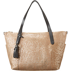 SALE! $181.99 - Save $146 on Cole Haan Parker Exotic Small Zip Top Shopper (Camello Snake Print) Bags and Luggage - 44.52% OFF $328.00