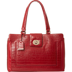 SALE! $199.99 - Save $198 on Cole Haan Lafayette Tote (Velvet Red Croc) Bags and Luggage - 49.75% OFF $398.00