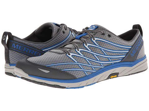 Merrell - Bare Access 3 (Castle Rock/Blue) Men's Running Shoes