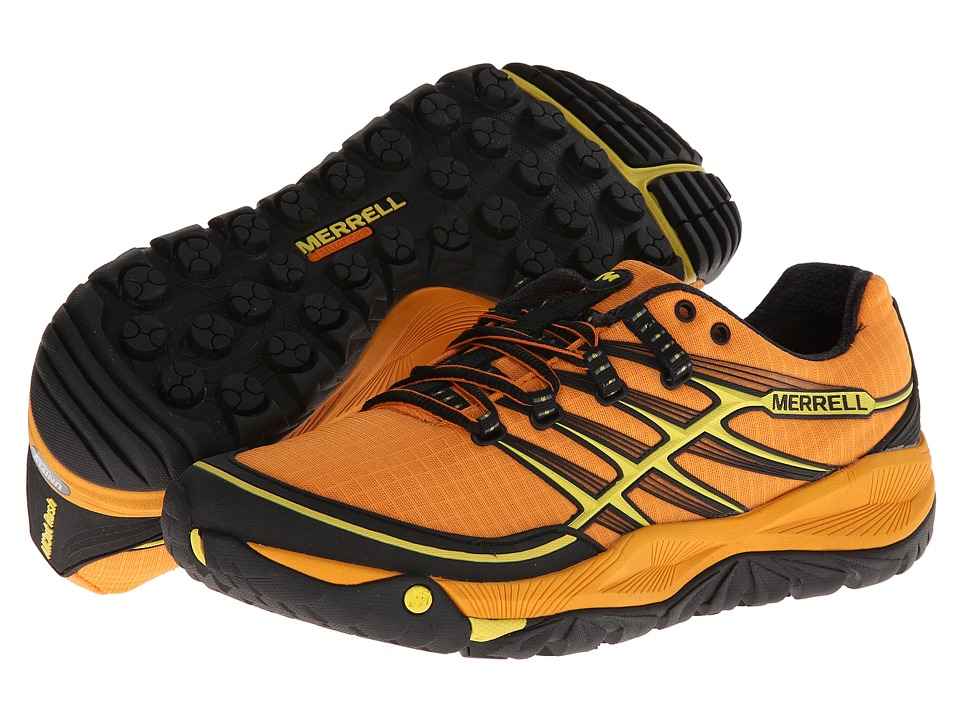 Merrell - Allout Rush (Orange Peel/Yellow) Men's Shoes