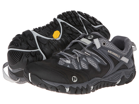 Merrell - Allout Blaze (Black/Silver) Men's Shoes