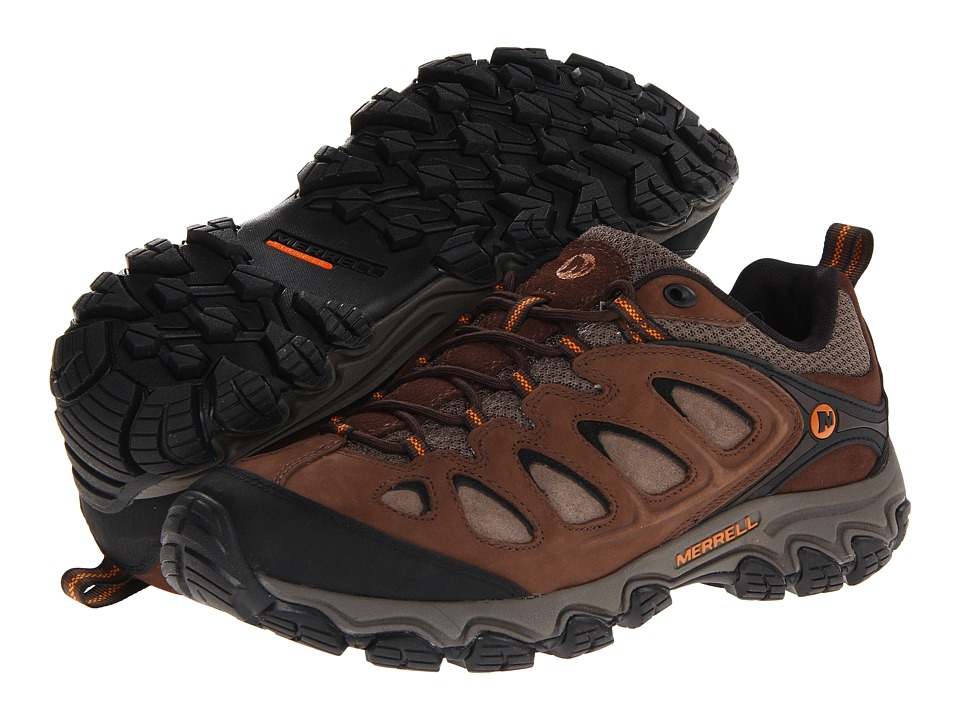 Merrell - Pulsate (Black/Bracken) Men's Shoes