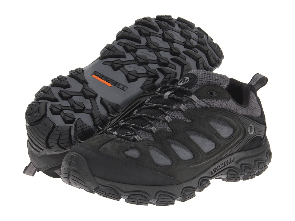 Merrell - Pulsate (Black/Castle Rock) Men's Shoes