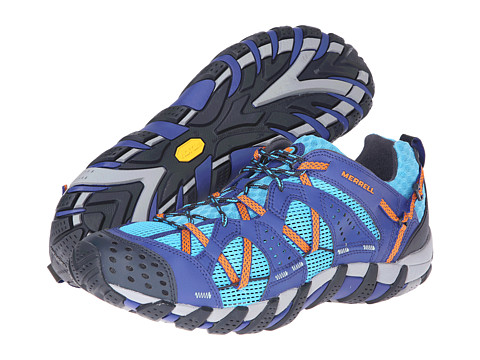 Merrell - Waterpro Maipo (Blue/Orange Peel) Men's Cross Training Shoes