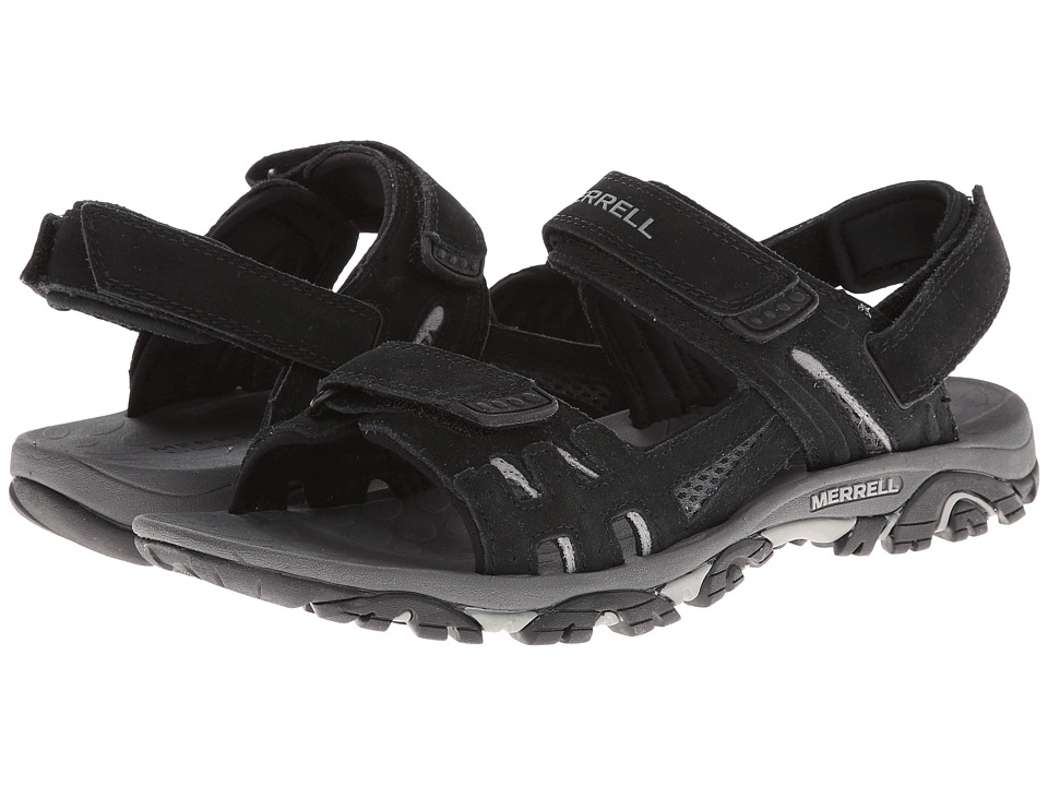 Merrell - Moab Drift Strap (Black) Men's Sandals