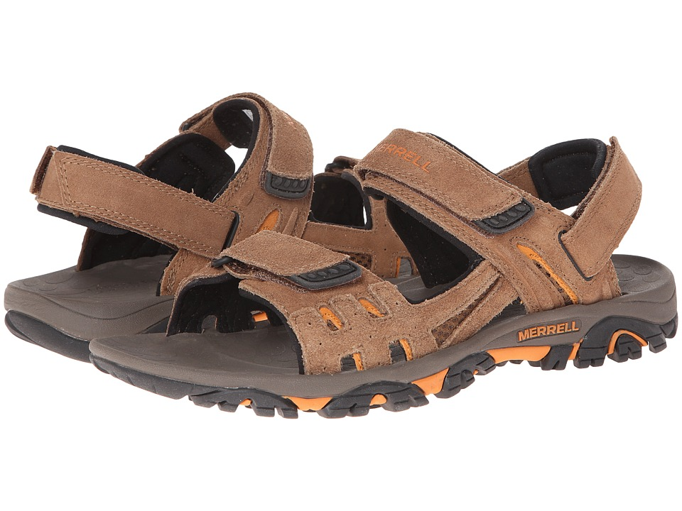 Merrell - Moab Drift Strap (Dark Earth) Men's Sandals
