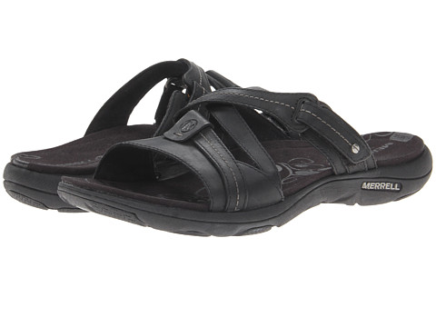 Merrell - Sway Leather (Black) Women's Sandals
