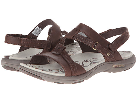Merrell - Swivel Leather (Bracken) Women's Sandals