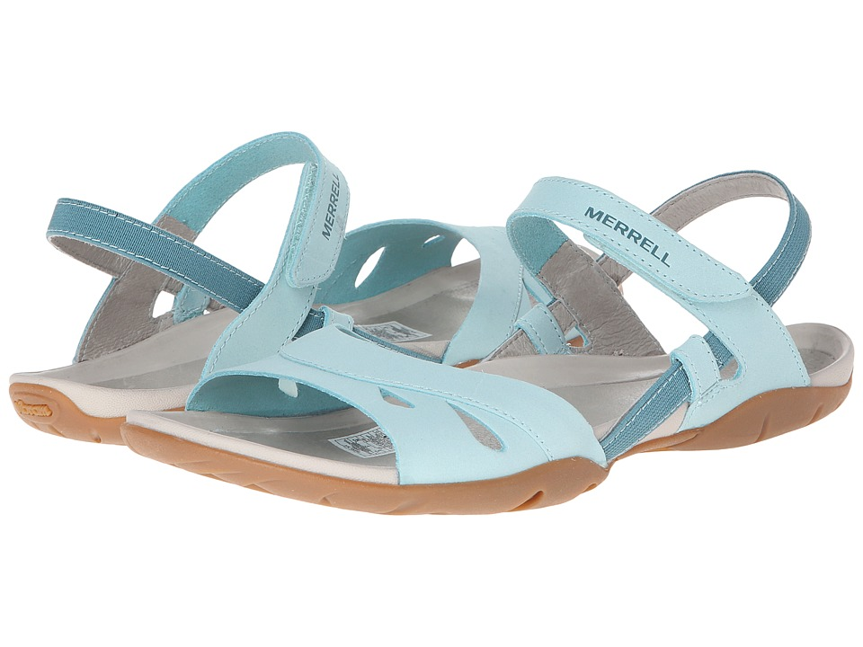 Merrell - Flicker Wrap (Eggshell Blue) Women's Sandals