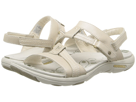 Merrell - Swivel Leather (White) Women's Sandals