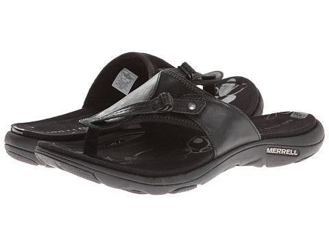 Merrell - Grace Leather Flip (Black) Women