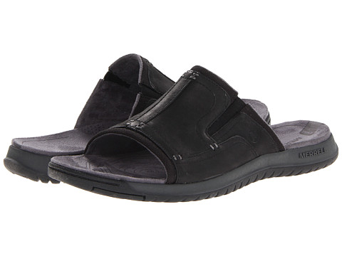 Merrell - Traveler Tilt Slide (Black) Men's Sandals