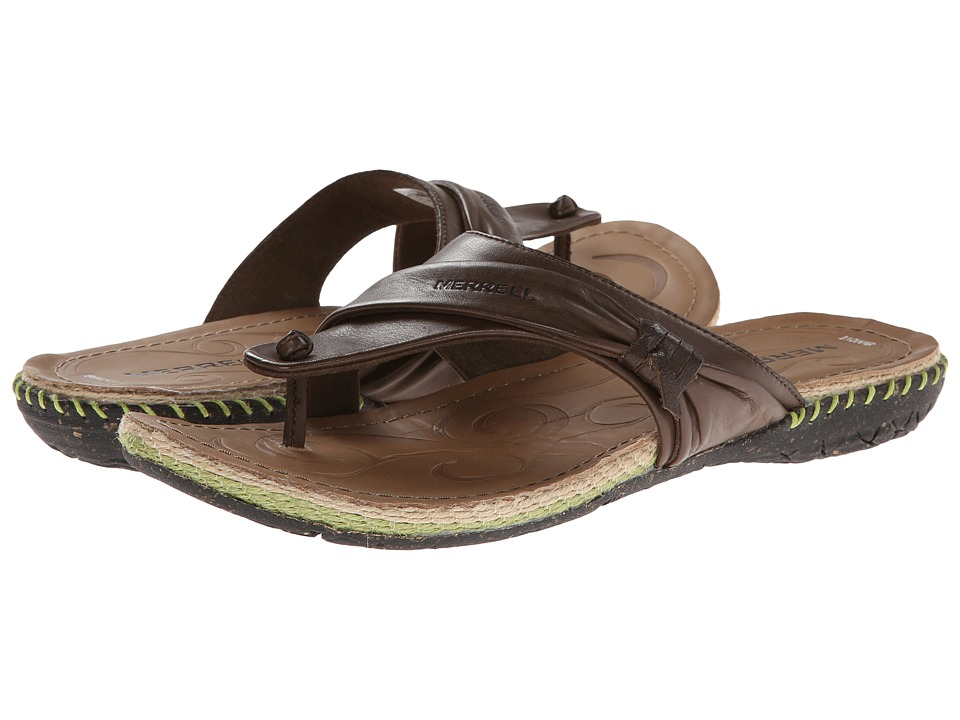 Merrell - Whisper Flip (Brown) Women's Sandals