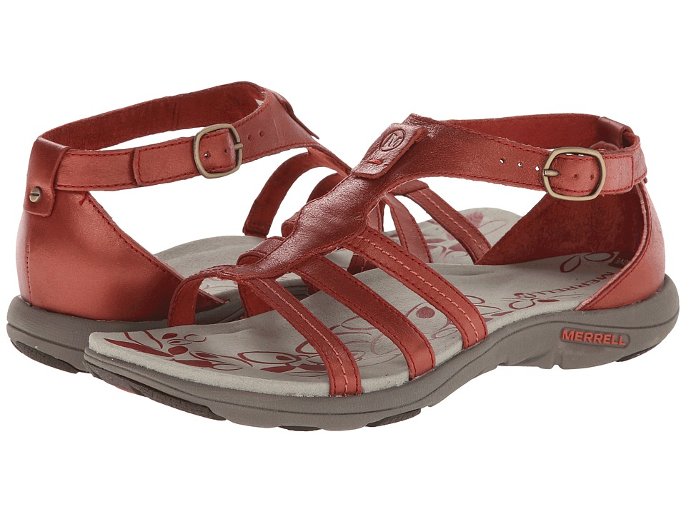 Merrell - Cantor Lavish (Red Ochre) Women's Sandals