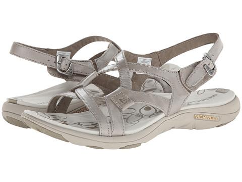 Merrell - Agave 2 Lavish (Aluminum) Women's Sandals