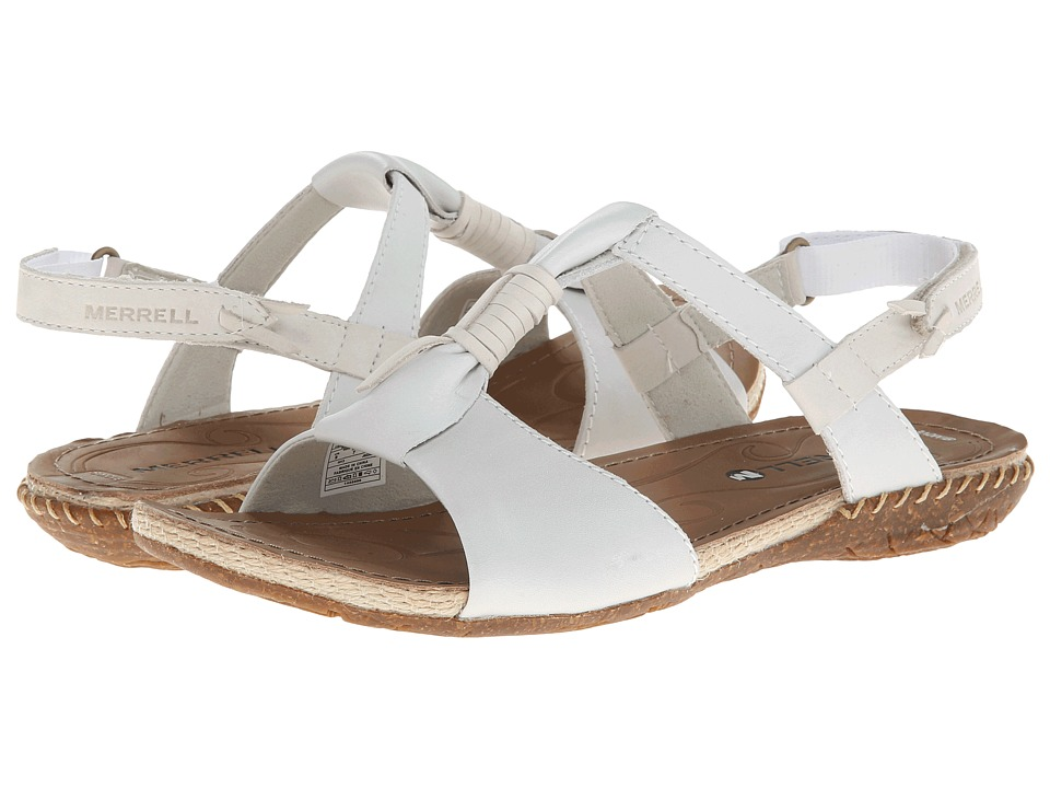 Merrell - Whisper Link (White) Women's Sandals