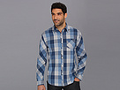 DKNY Jeans L/S Oversized Heather Gingham Shirt-Casual Press