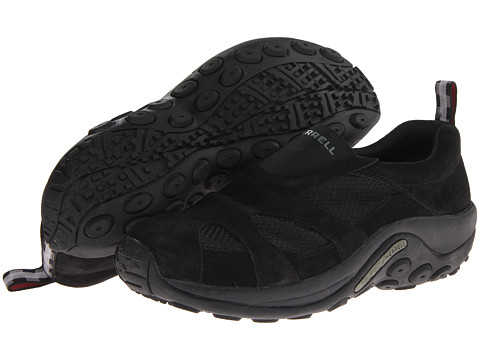 Merrell - Jungle Moc Ventilator (Black) Men's Shoes