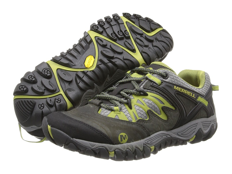Merrell - Allout Blaze (Charcoal/Moss) Women's Shoes